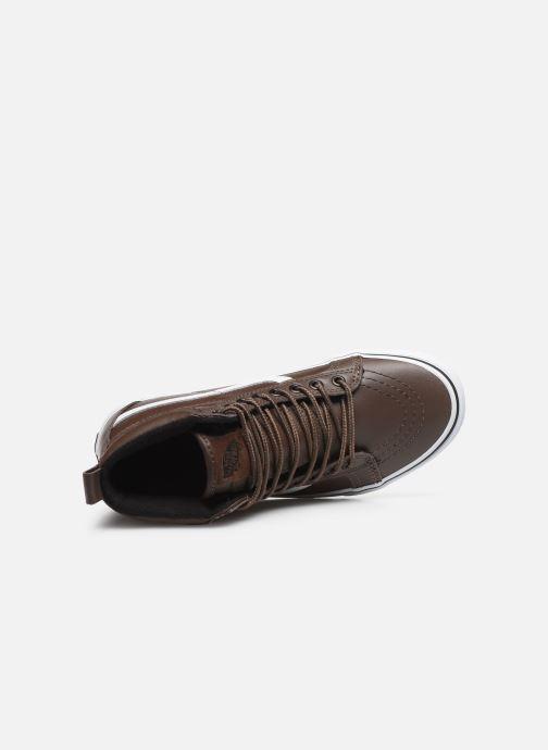 Sneakers Vans UA SK8-Hi MTE W Marrone immagine sinistra