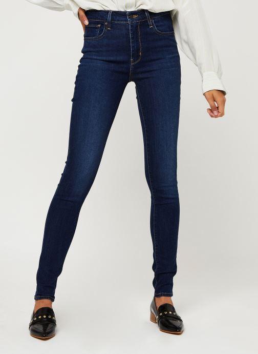 Vêtements Levi's 721™ High Rise Skinny Bleu vue détail/paire
