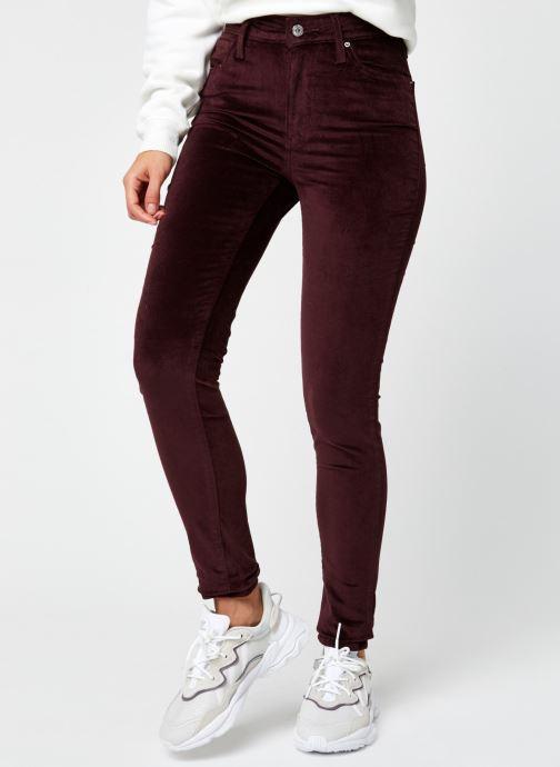 Vêtements Levi's 721™ High Rise Skinny Bordeaux vue détail/paire