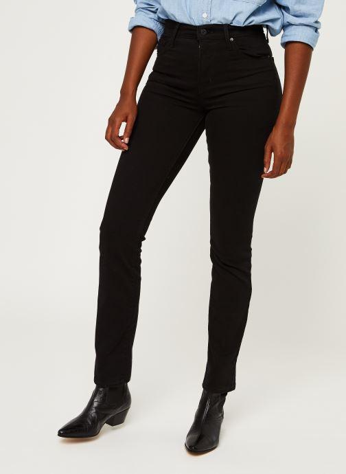 Vêtements Levi's 724™ High Rise Straight Noir vue détail/paire