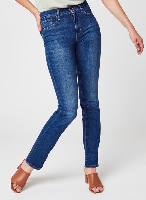 Abbigliamento Levi's 724™ High Rise Straight Azzurro vedi dettaglio/paio