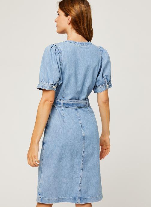 Vêtements Levi's Bryn Dress Bleu vue portées chaussures