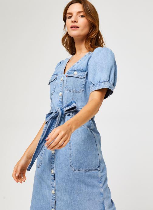 Vêtements Levi's Bryn Dress Bleu vue détail/paire