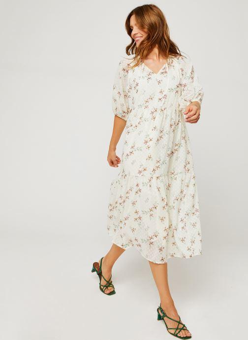 Vêtements Levi's Azalea Dress Blanc vue bas / vue portée sac