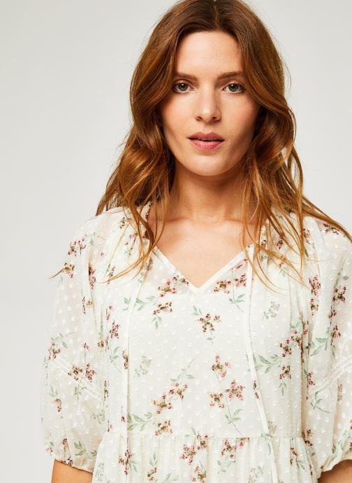 Vêtements Levi's Azalea Dress Blanc vue face
