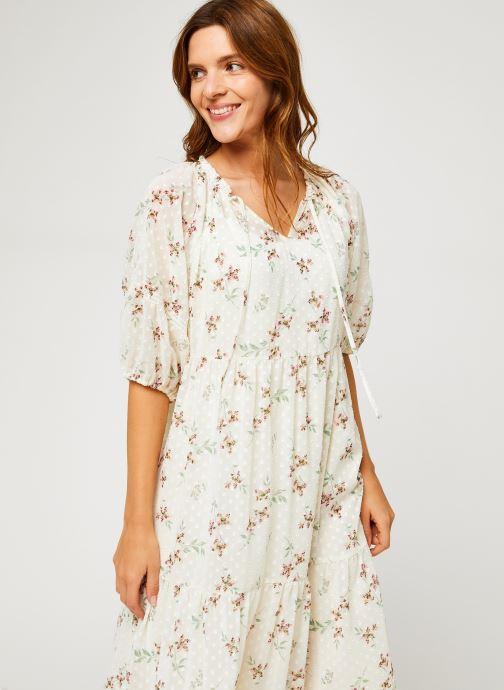 Vêtements Levi's Azalea Dress Blanc vue détail/paire