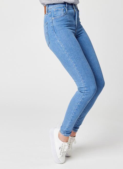 Vêtements Levi's Mile High Super Skinny Bleu vue détail/paire