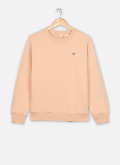 Vêtements Levi's Standard Crew Beige vue détail/paire