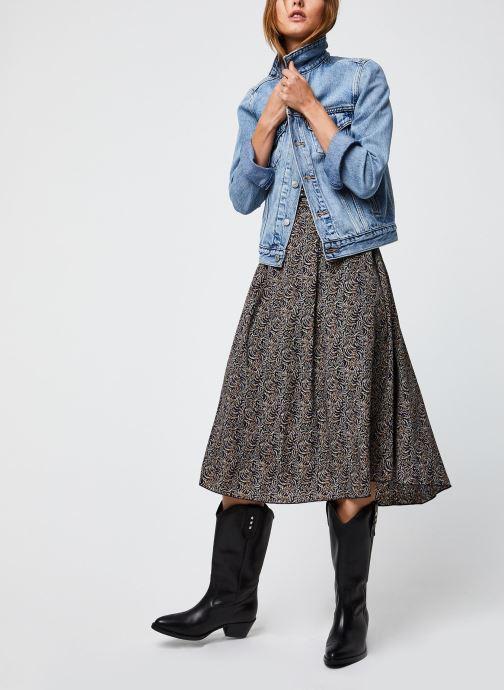 Vêtements Levi's Original Trucker Bleu vue bas / vue portée sac