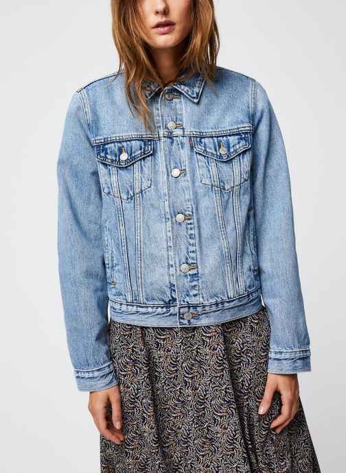 Vêtements Levi's Original Trucker Bleu vue droite