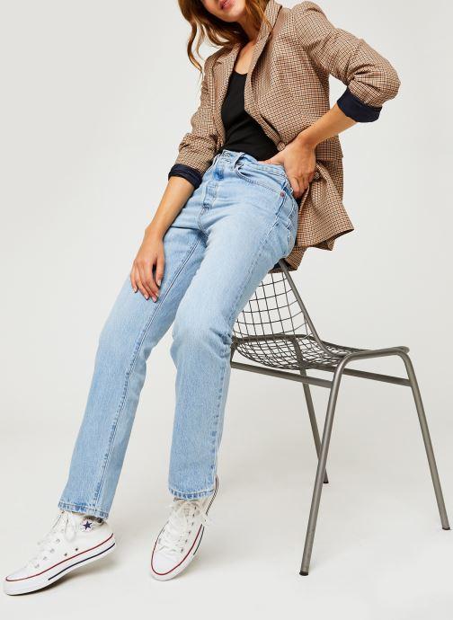Vêtements Levi's 501® Crop Bleu vue bas / vue portée sac