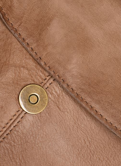 Bolsos de mano Pieces BETHANY LEATHER LARGE CROSS BODY Marrón vista lateral izquierda