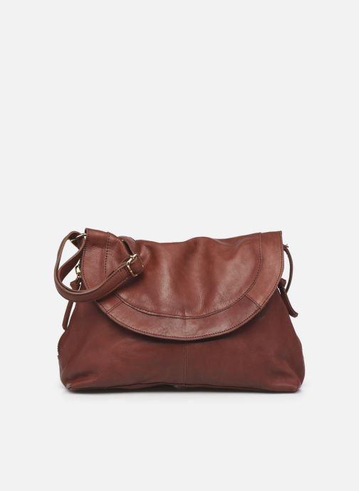 Handtaschen Pieces SAKINA LEATHER LARGE CROSS BODY rot detaillierte ansicht/modell