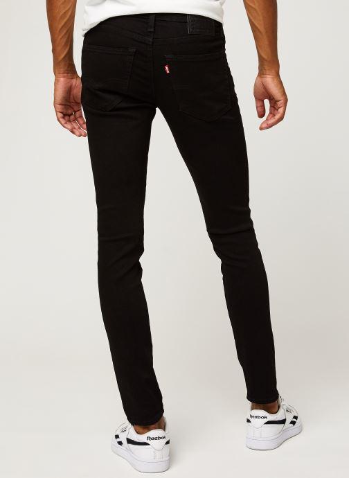 Vêtements Levi's SKINNY TAPER Noir vue portées chaussures