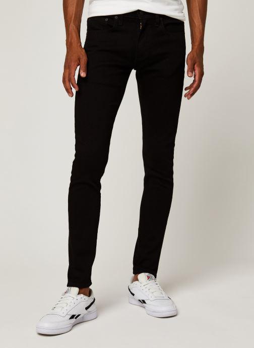 Vêtements Levi's SKINNY TAPER Noir vue détail/paire