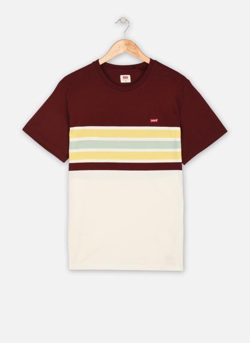 Levi's T shirt Ss Original Hm Tee (Bordeaux) Vêtements