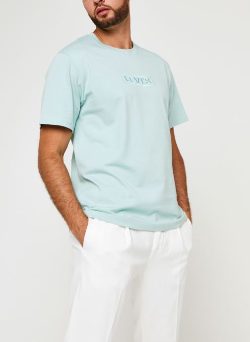 Kleding Levi's SS RELAXED FIT TEE Blauw rechts