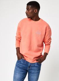 Ssnl Mv Logo Garment Dye Crew Coral Quartz