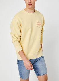 Ssnl Mv Logo Garment Dye Crew Golden Haze