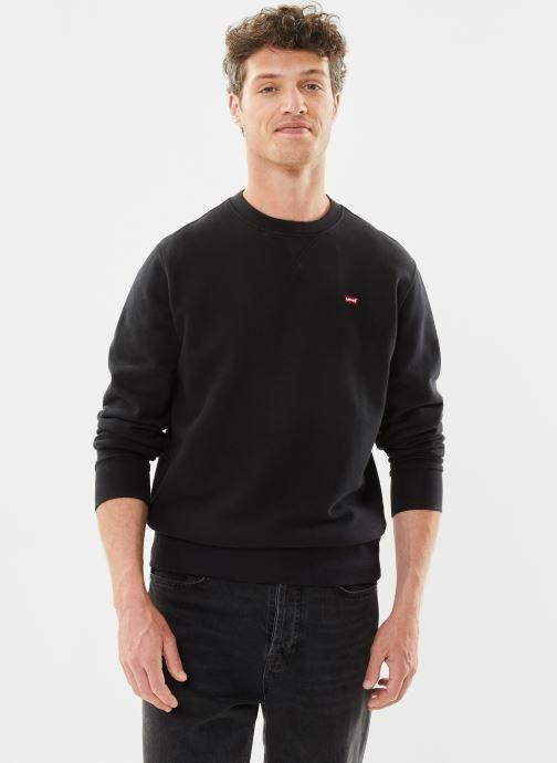 Vêtements Levi's NEW ORIGINAL CREW Noir vue détail/paire