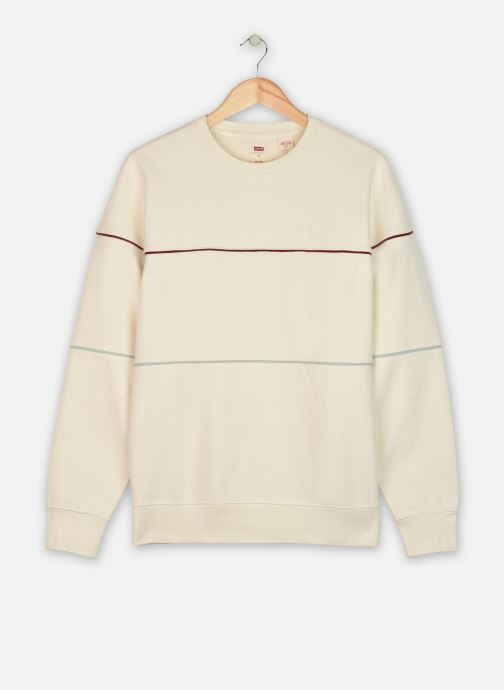 RELAXED FIT NOVELTY CREW