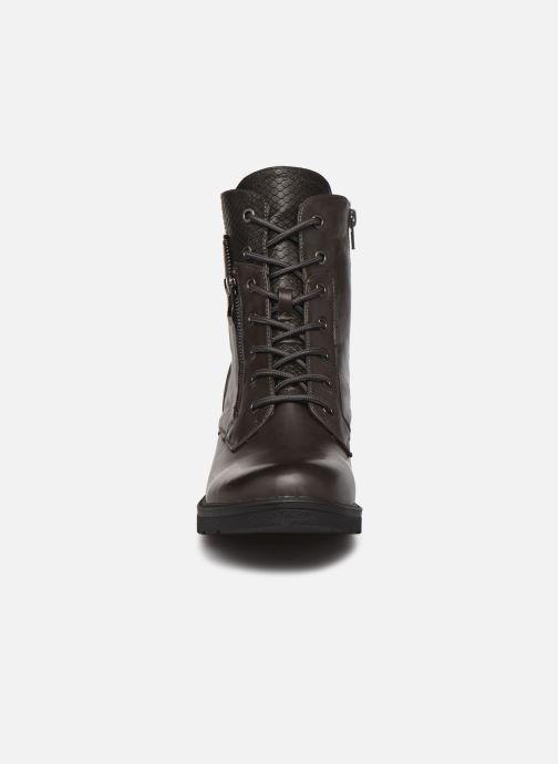 Stiefeletten & Boots I Love Shoes FIMODE Size + grau schuhe getragen