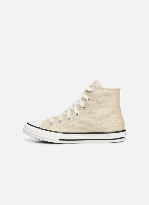 Sneakers Converse Chuck Taylor All Star Summer Sparkle Hi Goud en brons voorkant