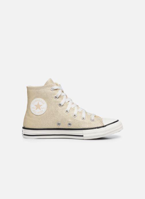 Sneakers Converse Chuck Taylor All Star Summer Sparkle Hi Goud en brons achterkant