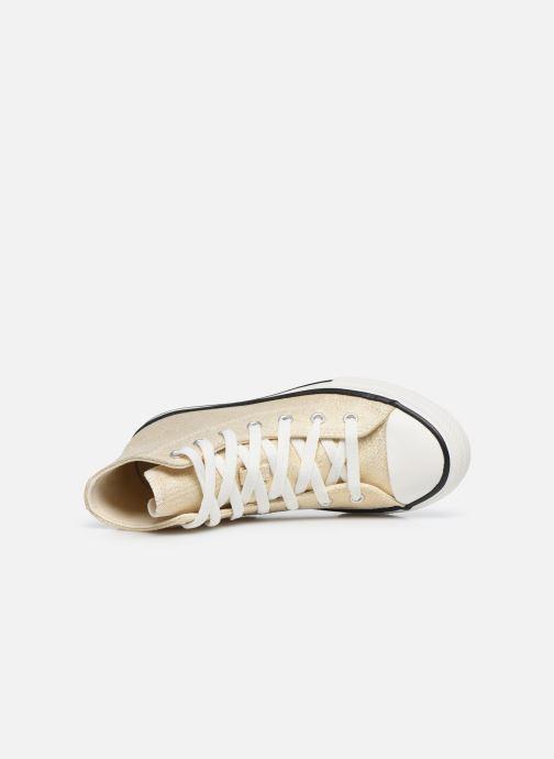 Sneakers Converse Chuck Taylor All Star Summer Sparkle Hi Goud en brons links