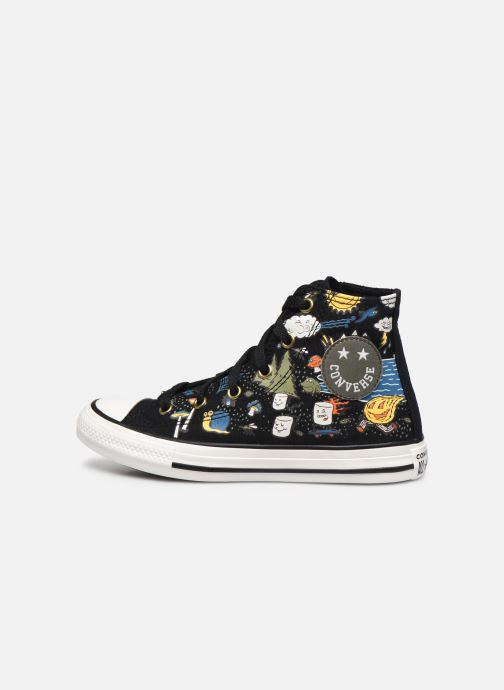 Sneakers Converse Chuck Taylor All Star Camp Converse Hi Zwart voorkant