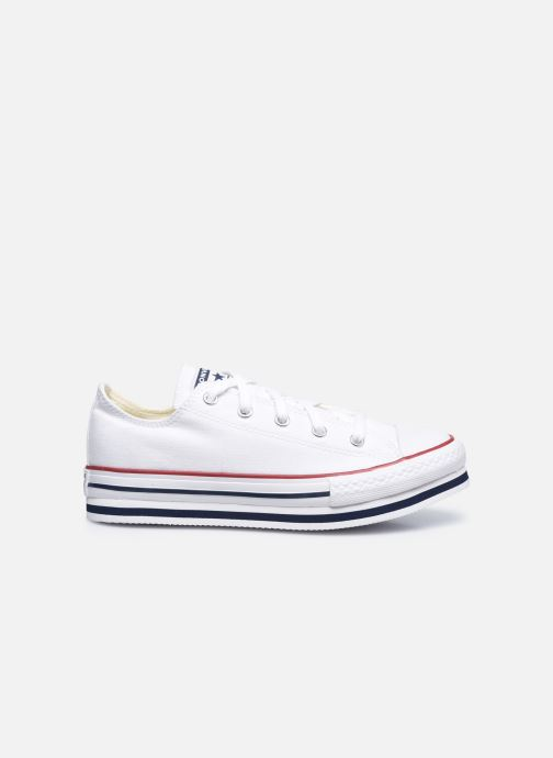 Sneakers Converse Chuck Taylor All Star Platform EVA Everyday Ease Ox Bianco immagine posteriore