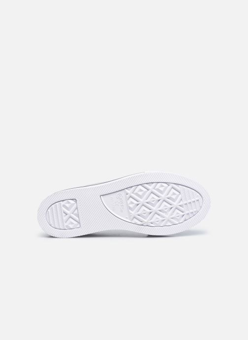 Sneakers Converse Chuck Taylor All Star Platform EVA Everyday Ease Ox Bianco immagine dall'alto
