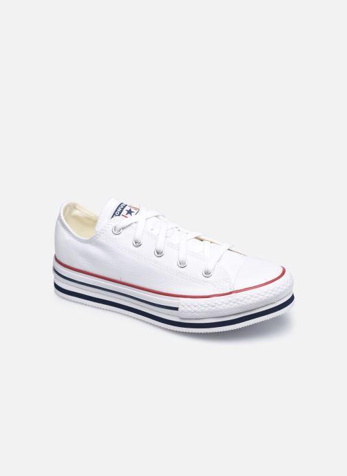 Sneakers Converse Chuck Taylor All Star Platform EVA Everyday Ease Ox Bianco vedi dettaglio/paio