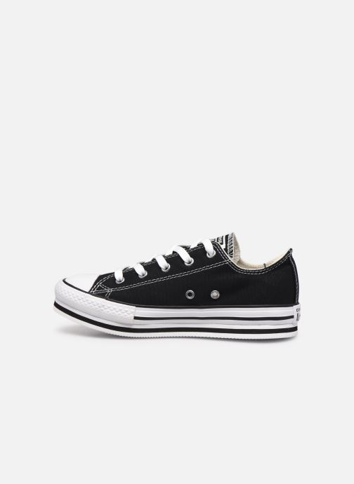 Sneakers Converse Chuck Taylor All Star Platform EVA Everyday Ease Ox Nero immagine frontale