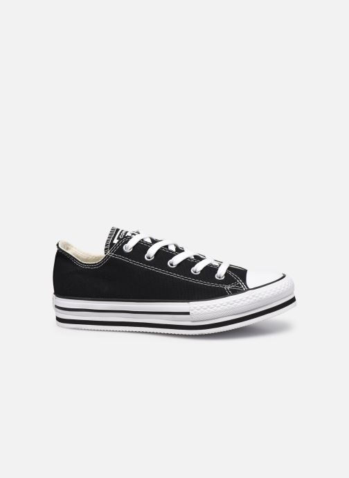 Sneakers Converse Chuck Taylor All Star Platform EVA Everyday Ease Ox Nero immagine posteriore