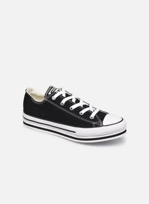 Baskets Converse Chuck Taylor All Star Platform EVA Everyday Ease Ox Noir vue détail/paire