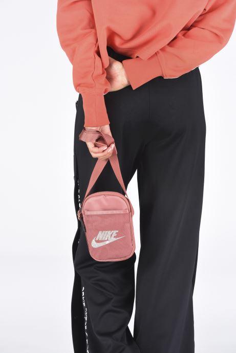 Bolsos de mano Nike Nk Heritage S Smit Rosa vista de abajo
