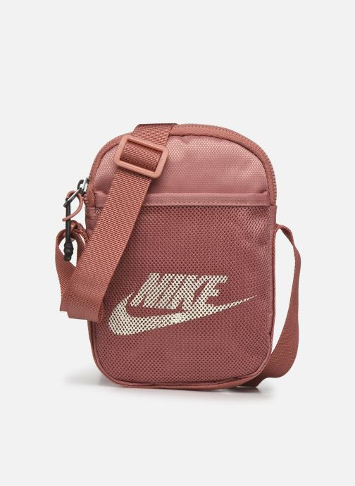 Bolsos de mano Nike Nk Heritage S Smit Rosa vista de detalle / par