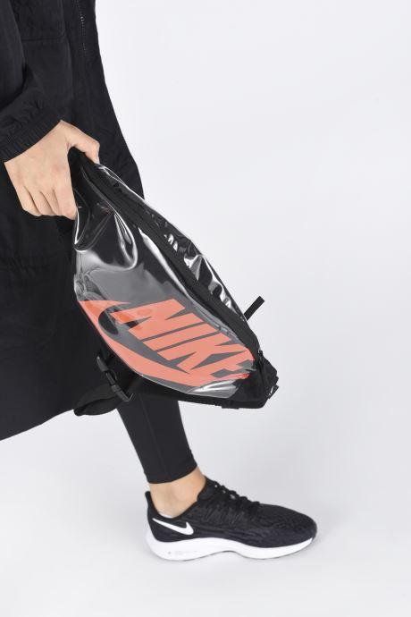 Sacs à main Nike Nk Heritage Hip Pack - Mtrl Noir vue bas / vue portée sac