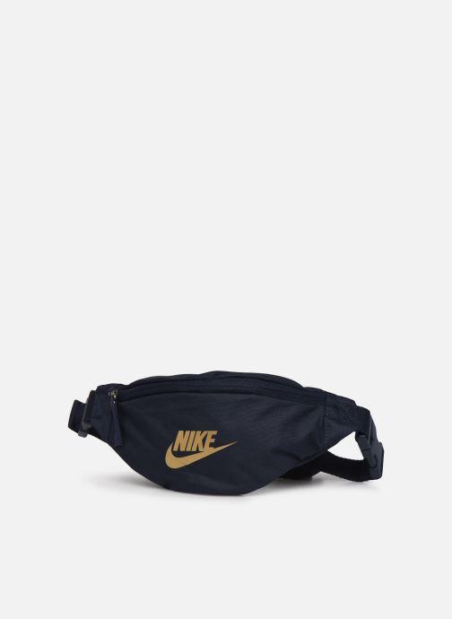Borse Nike Nk Heritage Hip  Pack - Small Azzurro modello indossato