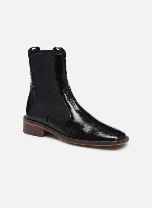 Boots en enkellaarsjes Jonak Bolivia Zwart detail