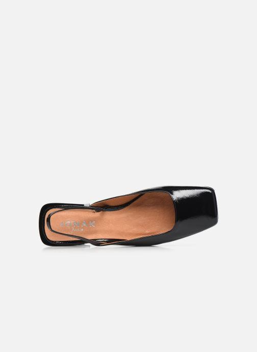 Sandali e scarpe aperte Jonak Bachata Nero immagine sinistra