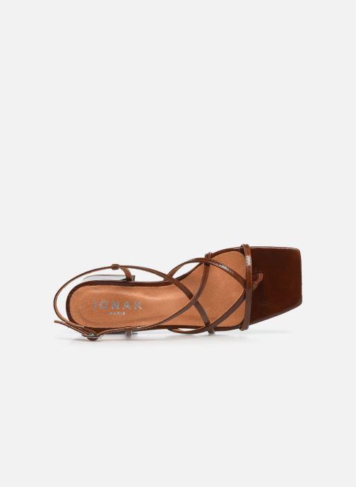 Jonak Bahama (Marron) Sandales et nu pieds chez Sarenza
