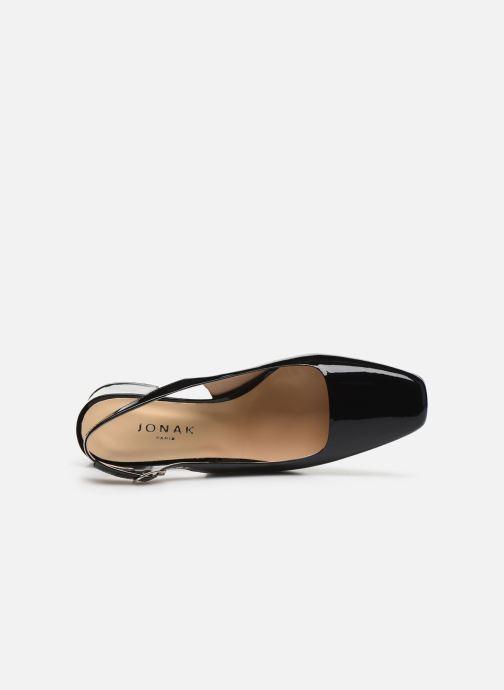 Zapatos de tacón Jonak Dahlia Negro vista lateral izquierda