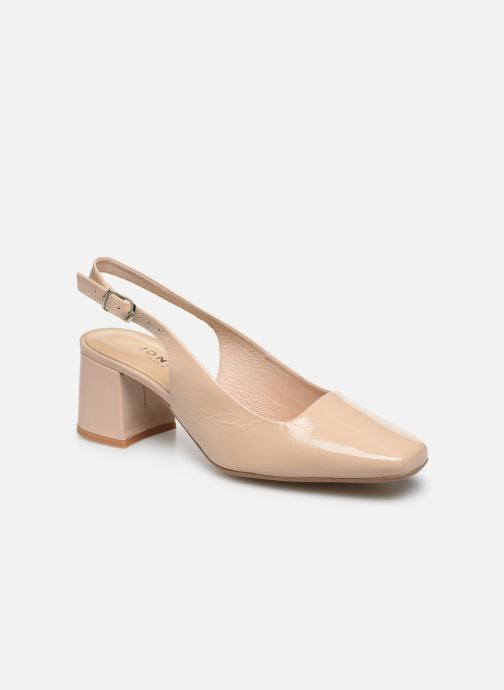 Zapatos de tacón Jonak Dahlia Beige vista de detalle / par