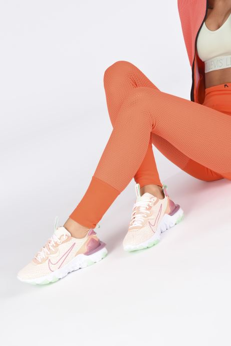 Deportivas Nike W Nike Nsw React Vision Rosa vista de abajo