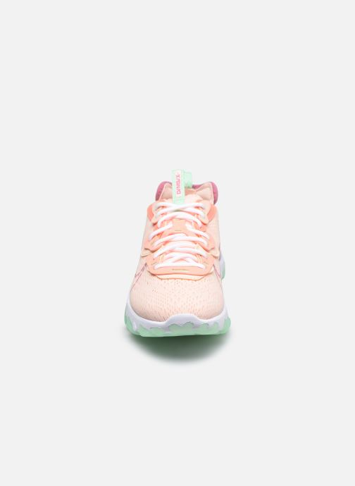 Baskets Nike W Nike Nsw React Vision Rose vue portées chaussures