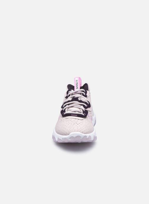 Sneakers Nike W Nike Nsw React Vision Viola modello indossato