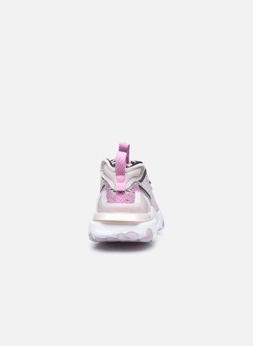 Sneakers Nike W Nike Nsw React Vision Viola immagine destra