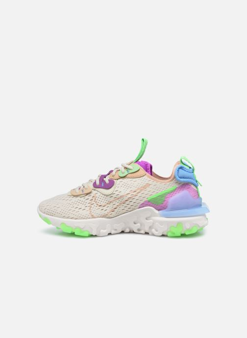 Baskets Nike W Nike Nsw React Vision Beige vue face